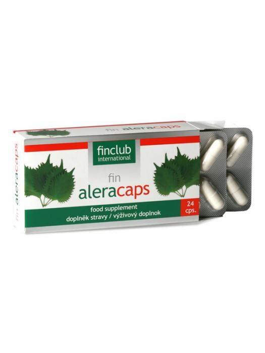 Fotografie fin Aleracaps - přírodní antihistamika